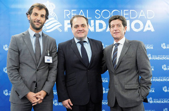 La Fondation Real Sociedad et Centro Gráfico Ganboa ont signé un accord de collaboration.