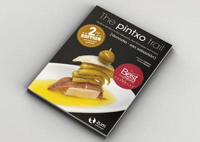 Impresión offset de un libro de gastronomía