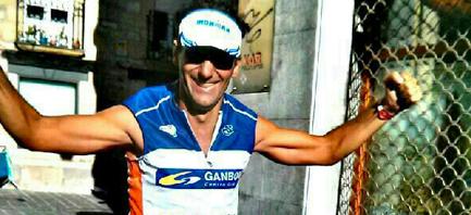 Iñigo Villaba, Director Comercial de Centro Gráfico Ganboa, finaliza con éxito la Ironman Challenge Vitoria