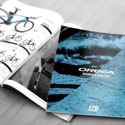 Impresión offset de catálogos de producto – Ciclismo