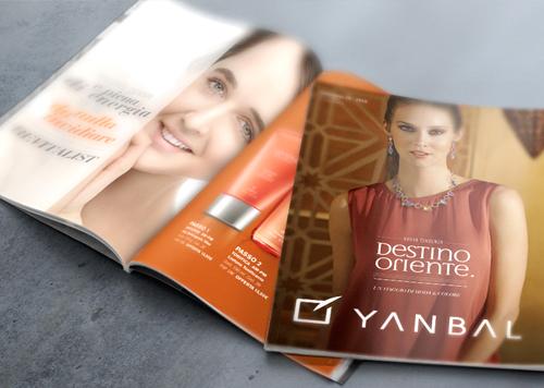 Impresión offset de catálogos de cosmetica