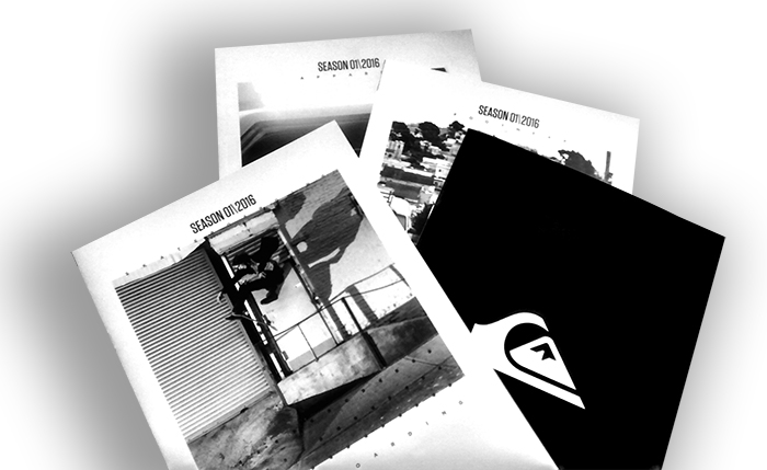Quiksilver Europe entrusts Centro Gráfico Ganboa with the printing of its catalogs for yet another year