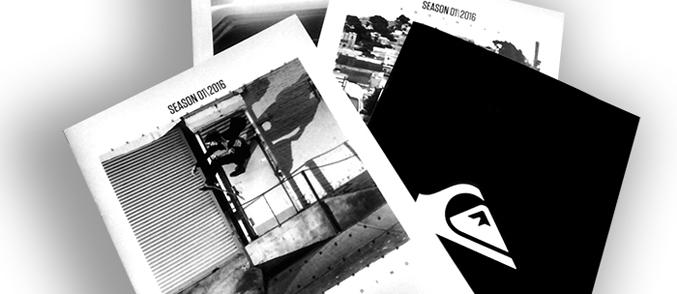 Quiksilver Europa confía un año más en Centro Gráfico Ganboa para la impresión de sus catálogos