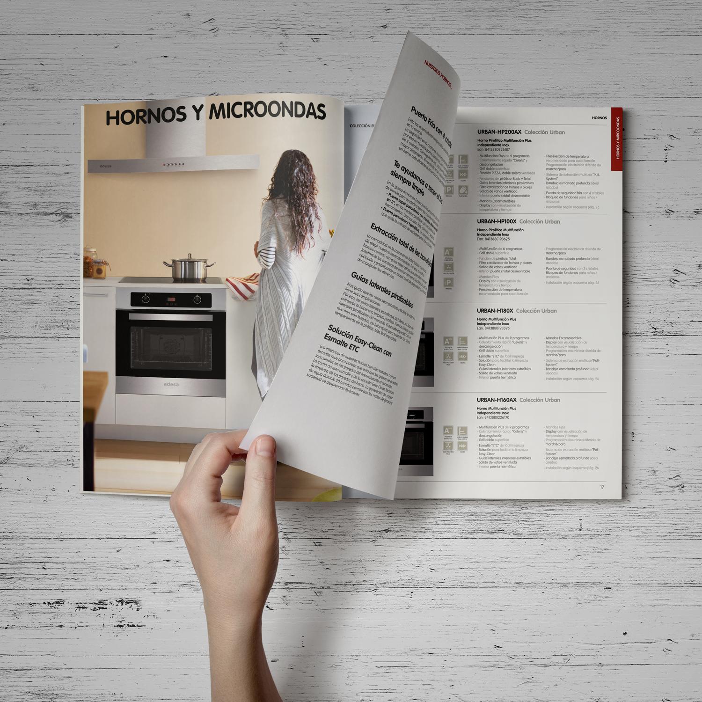 Impresión offset de Catálogos de cocina