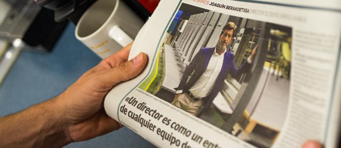 Entrevista  en  el  Diario  Vasco