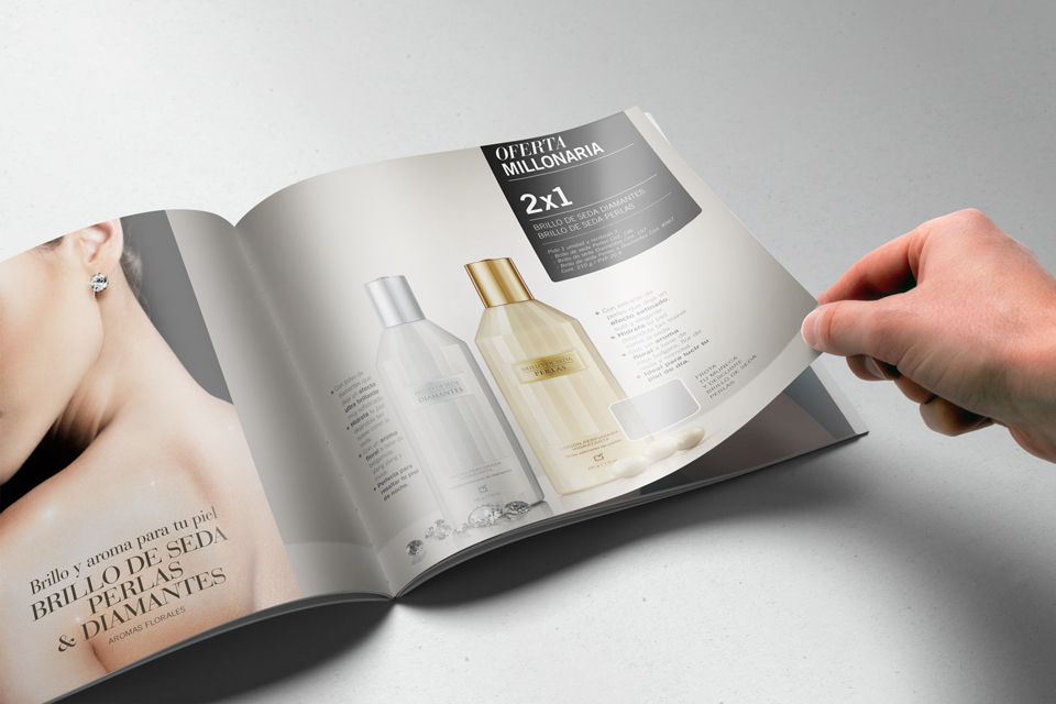 Perfumed inks – Catalog printing