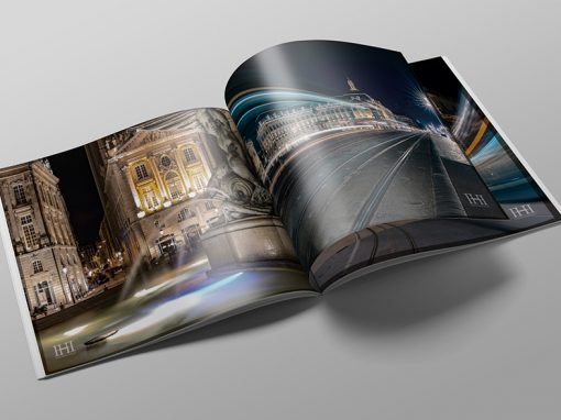 Commercial catalog with soft-touch cover printing – Photography