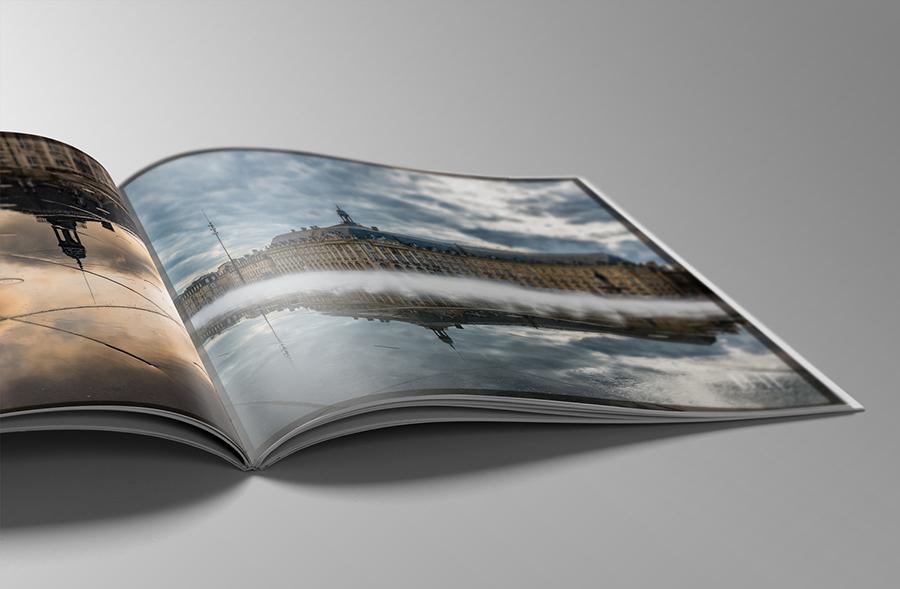 Impresión de catálogos comerciales con cubierta plastificada soft-touch para Fotografías