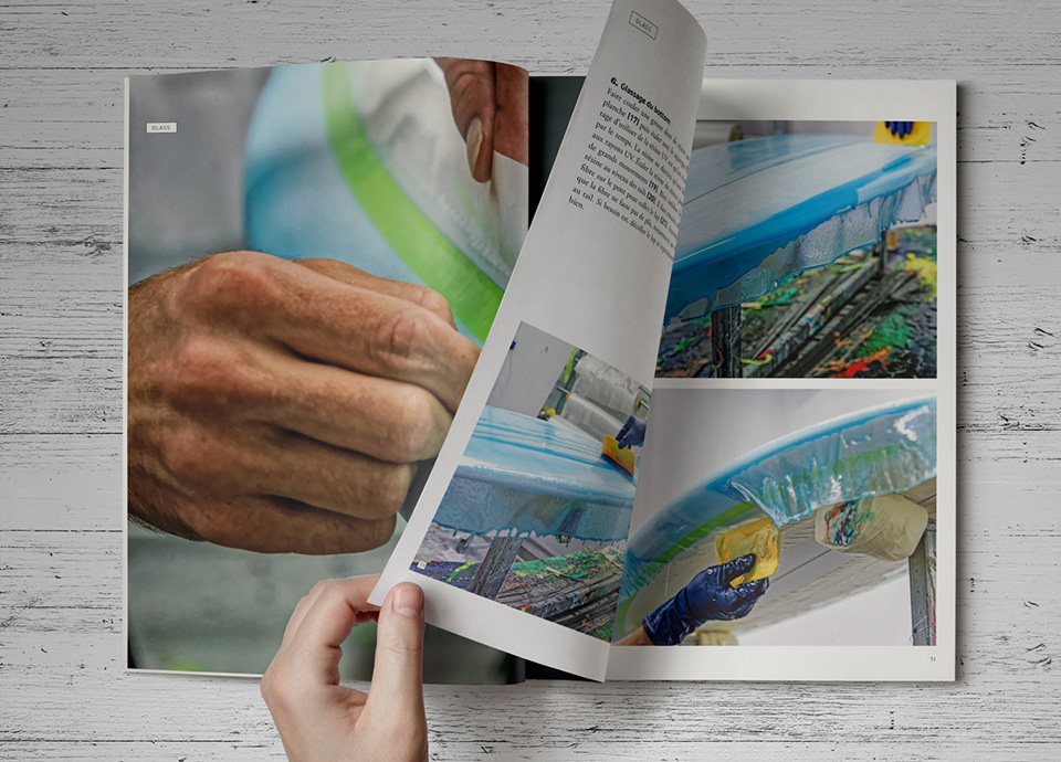Impresión de un catálogo con plastificado mate anti-rayas, edición de lujo