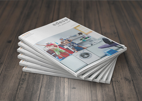 Offset printing of kitchen furniture catalogs