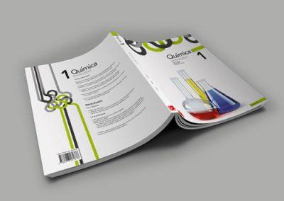Impresión offset de libros de texto / educación
