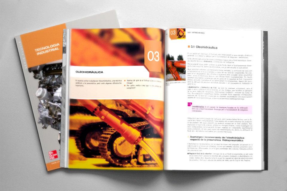 Impresión offset de libros de educación / texto