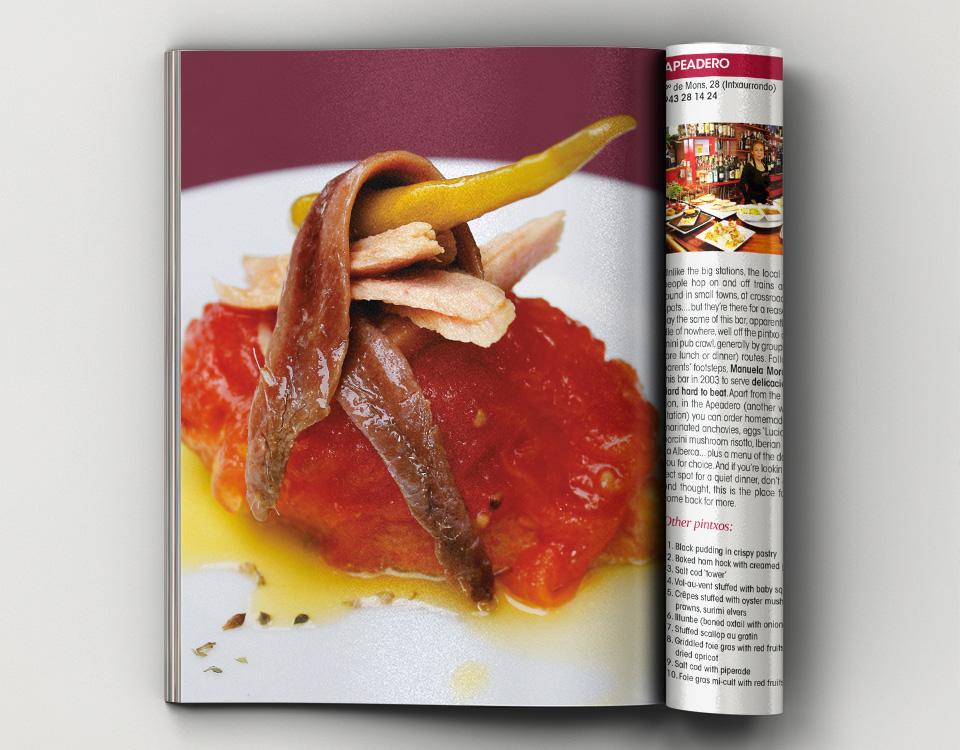 Impresión offset de libros de gastronomía