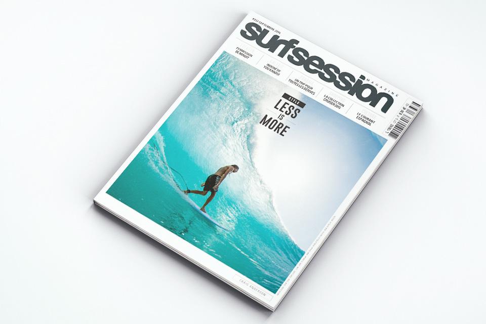 Impresión offset de revistas deportivas A4 - Surf
