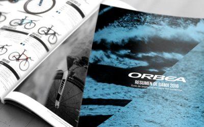 Impression de catalogues de produits – Ciclisme ORBEA