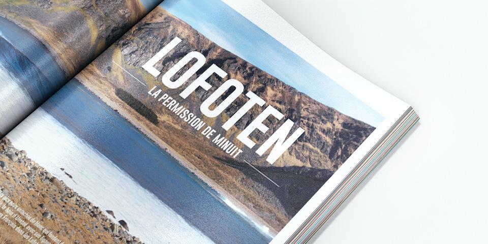 Impression offset d'un magazine sportif en format A4