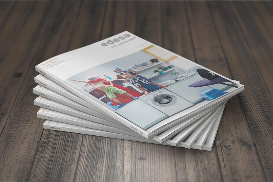 Impression offset de catalogues de mobilier de cuisine