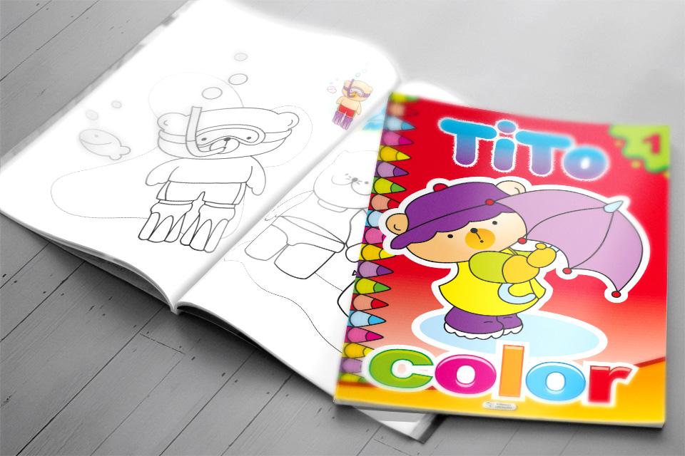 Impression offset de livres pour enfants