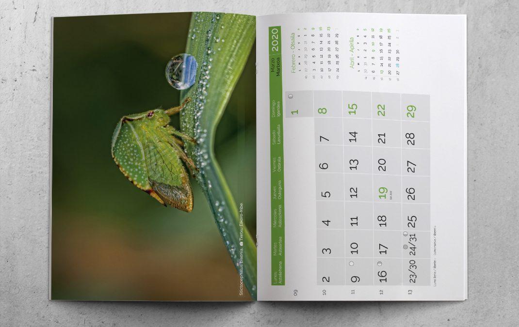 Offset-Druck von Kalendern im gehefteten Zeitschriftenformat